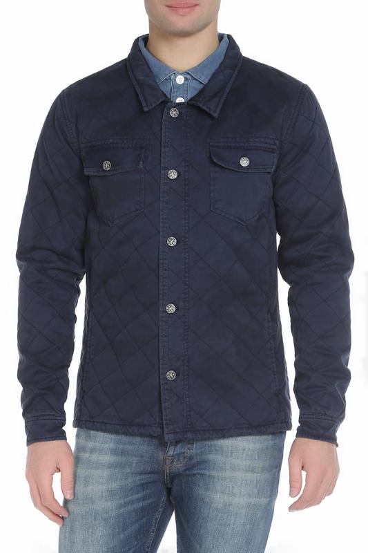 Куртка мужская Amsterdenim AM1801602 синяя XL