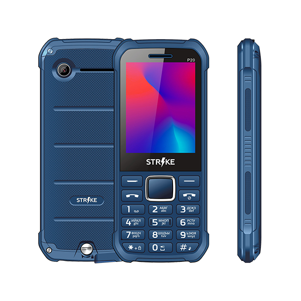 Мобильный телефон STRIKE P20 Dark Blue фото