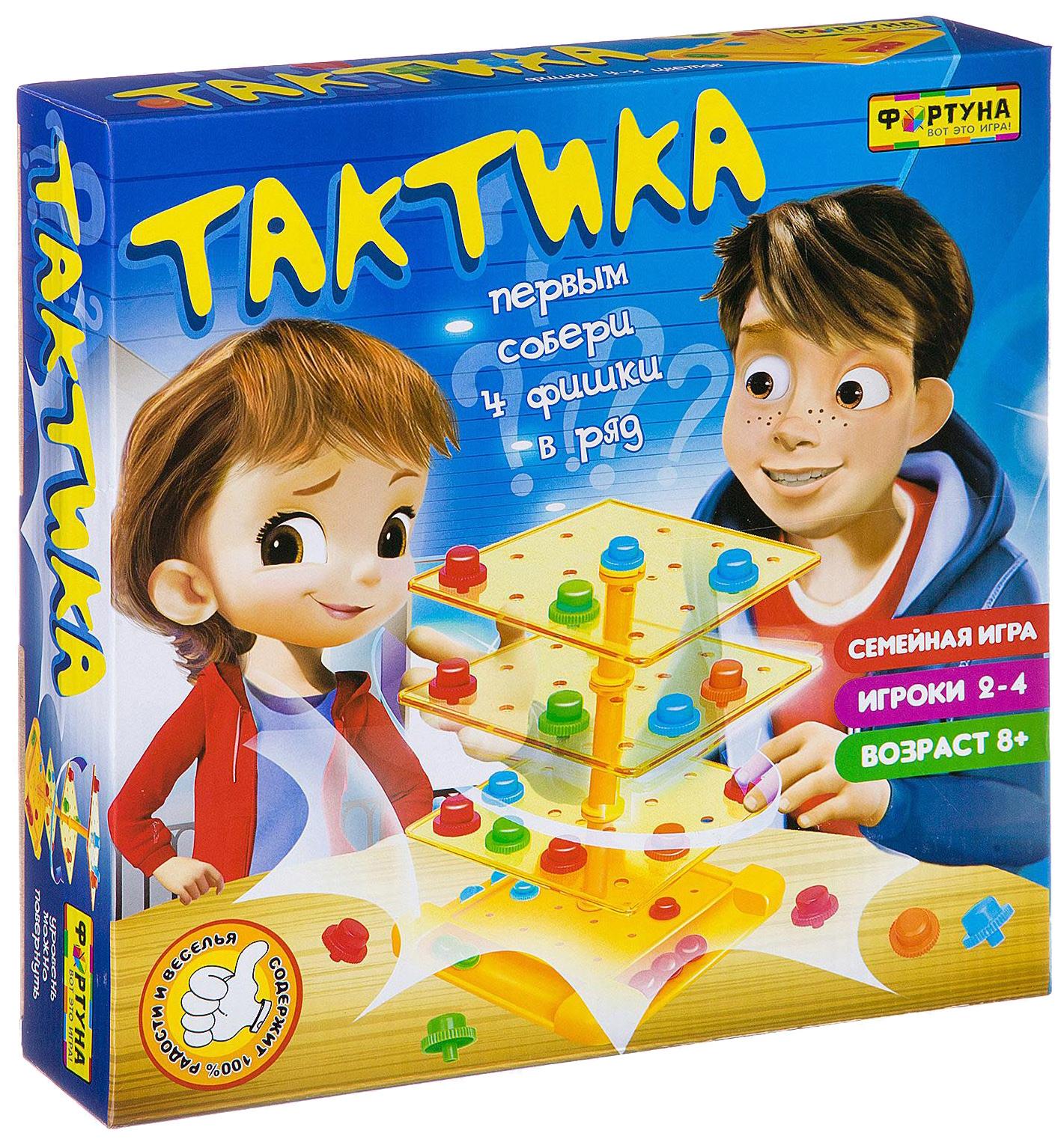 Купить Настольная игра Фортуна Тактика Ф87005, Семейные настольные игры
