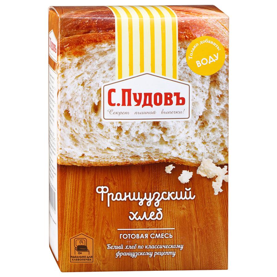 Хлебная смесь С.Пудовъ французский хлеб 500 г фото