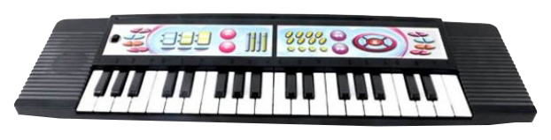 Купить Игрушечный синтезатор Shantou Gepai BL646 Черный,