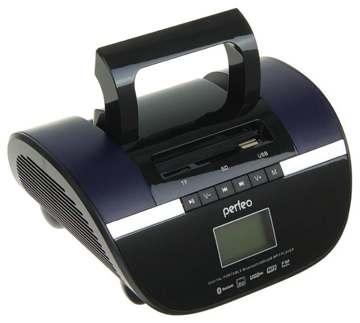 Радиоприемник Perfeo Stilius Черно Фиолетовый Bluetooth