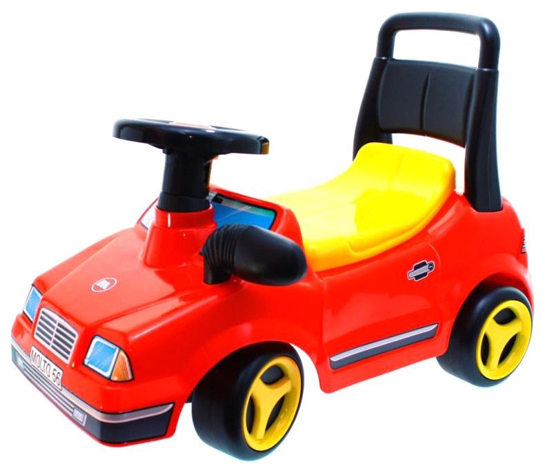 Каталка Molto автомобиль спортивный Вихрь фото