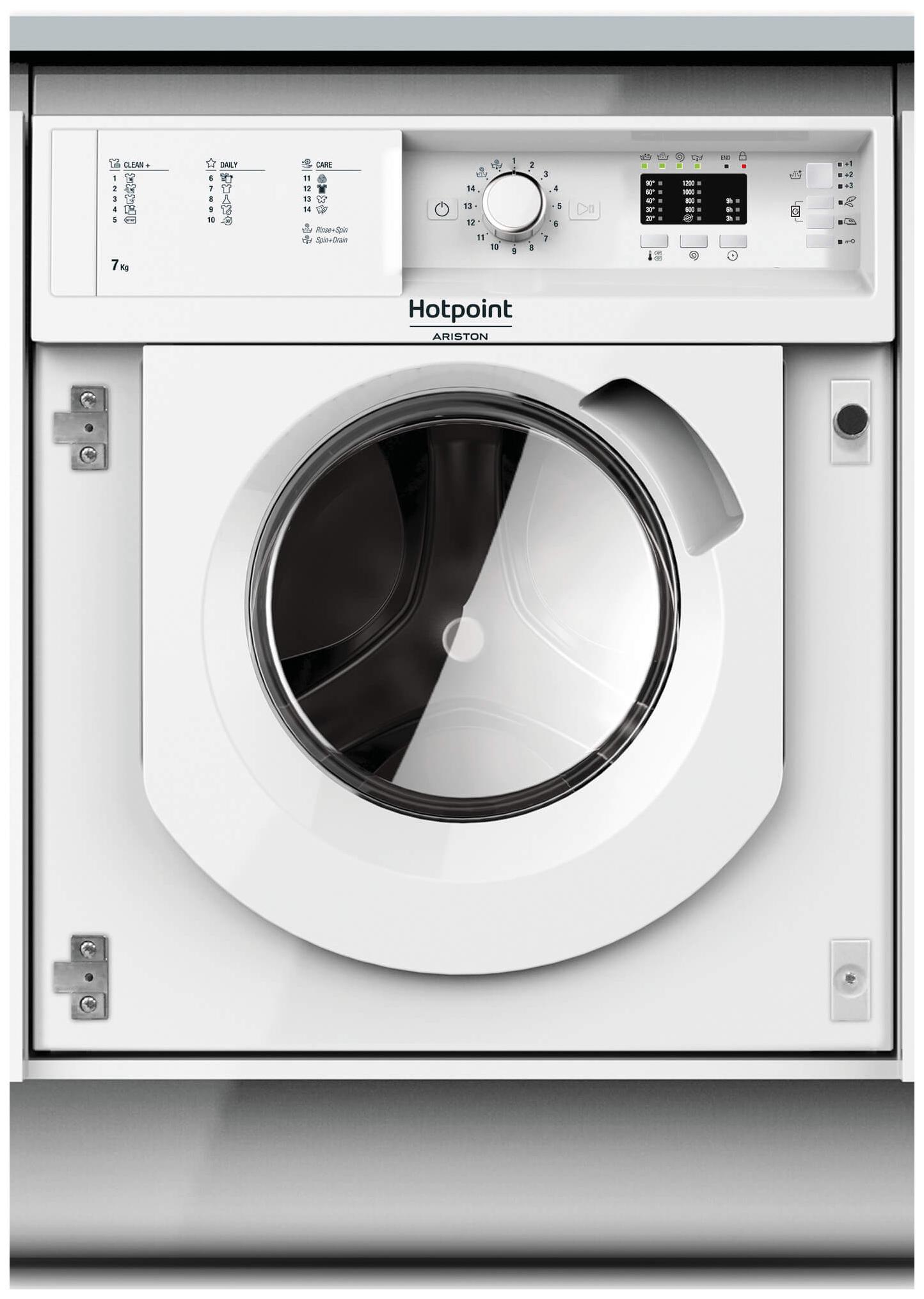 Встраиваемая стиральная машина HOTPOINT-ARISTON BI WMHL 71253 EU BI WMHL 71253 EU
