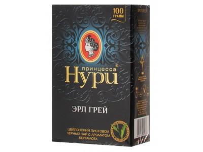Чай черный листовой Принцесса Нури эрл грей 100 г