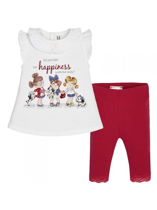 Комплект одежды MAYORAL Красный р.80