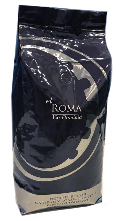 Кофе в зернах El roma via flaminia 1 кг