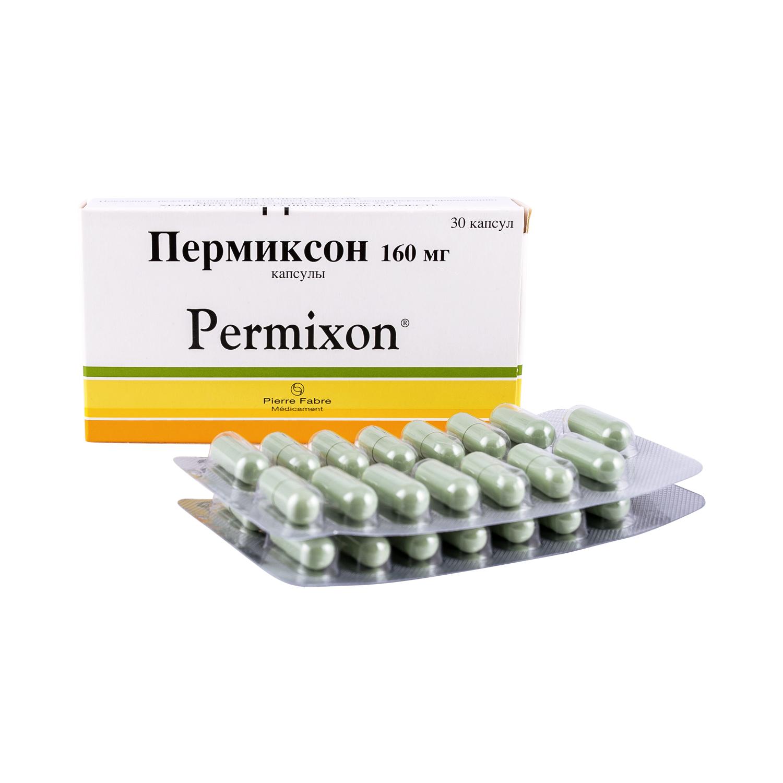 Пермиксон капсулы 160 мг 30 шт.
