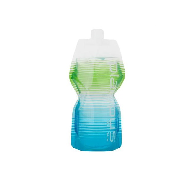 Фляга Platypus Softbottle 10966 голубая/зеленая 1 л