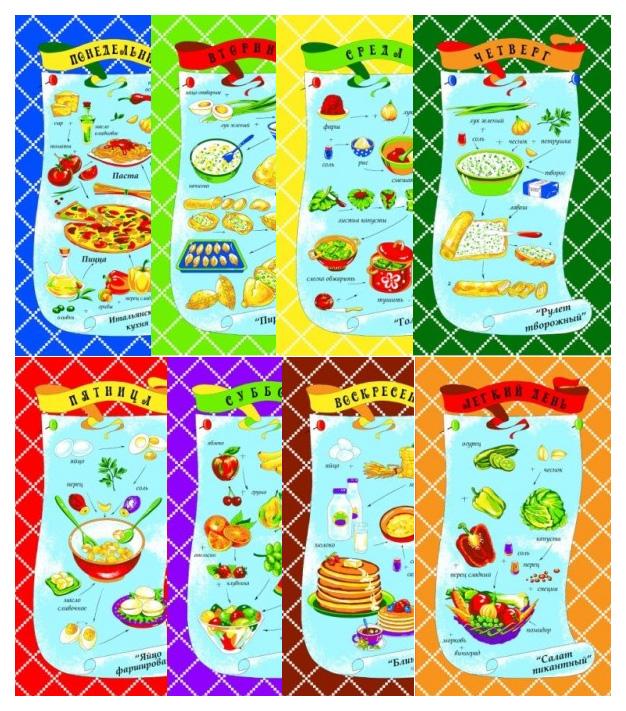 Кухонное полотенце Elegante Неделька ena165970