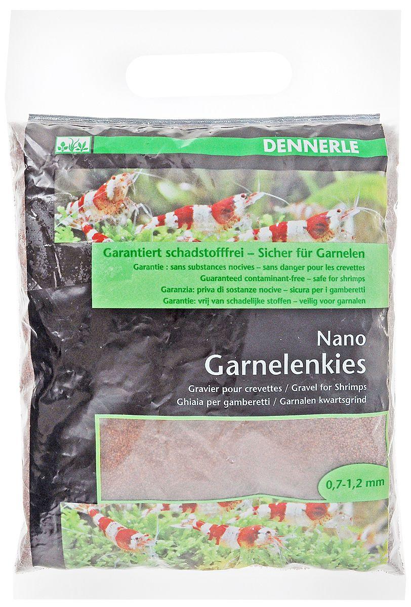 Грунт Dennerle Nano Garnelenkies для мини-аквариумов (2 кг, Коричневый) фото