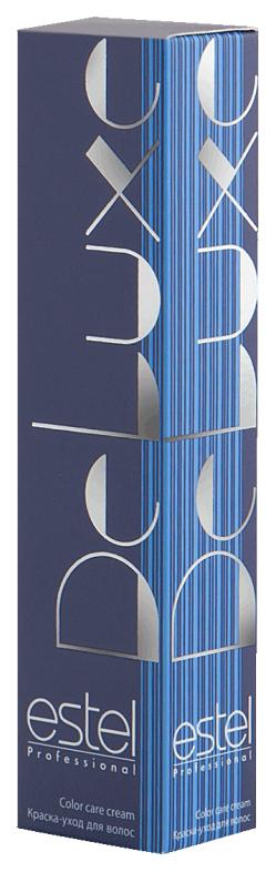 Краска для волос Estel Professional De Luxe 7/75 Русый коричнево-красный 60 мл