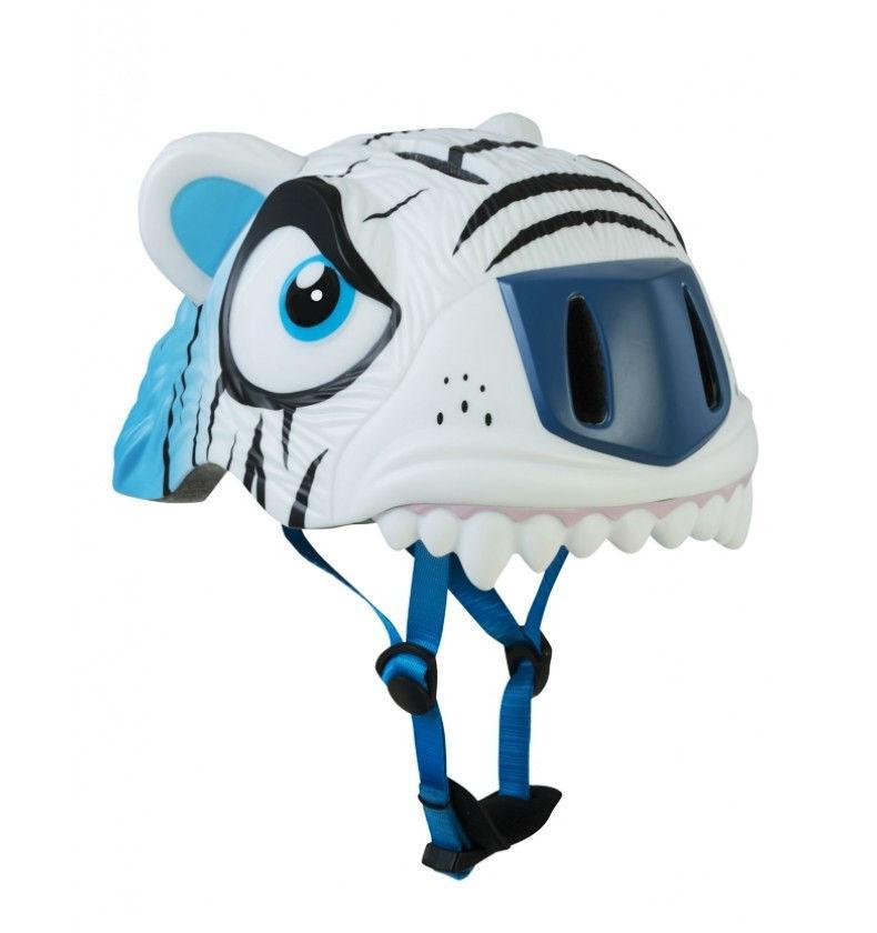 Шлем защитный детский Crazy Safety 2017 White