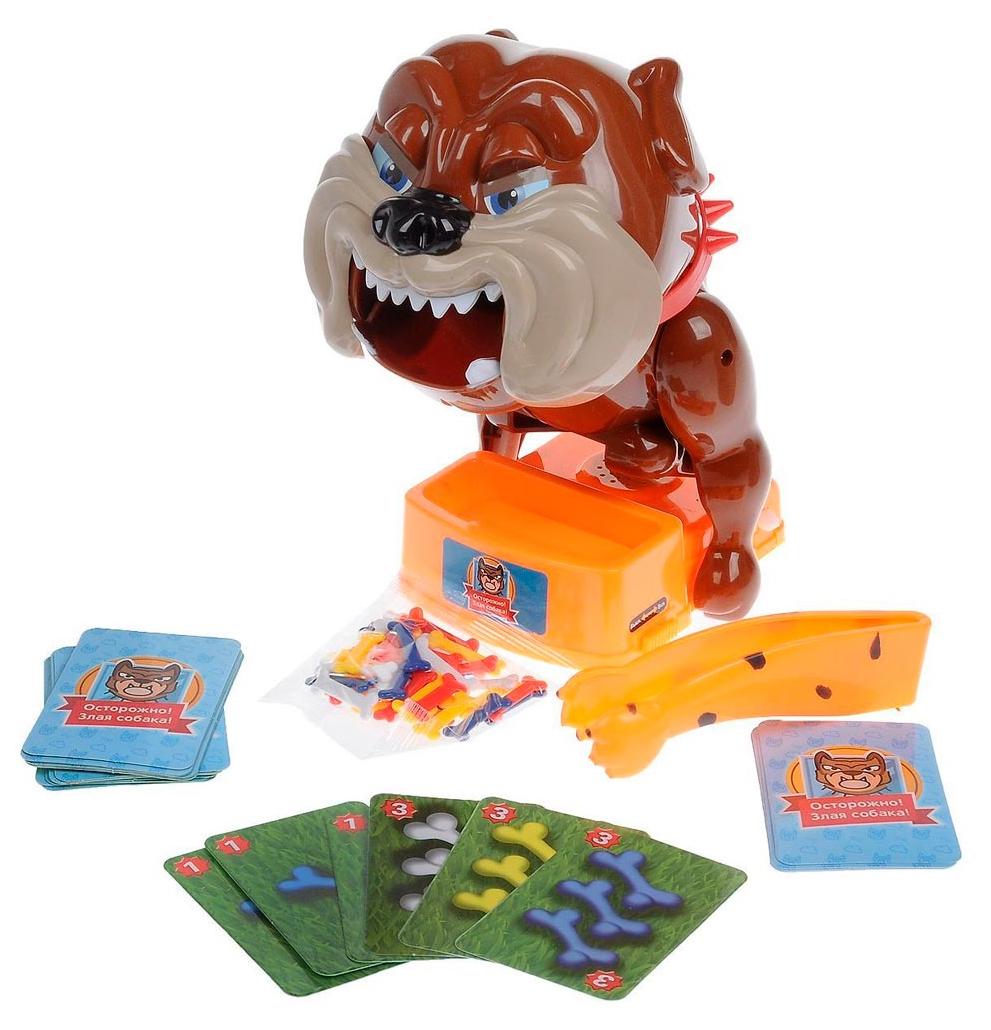 Купить Игра настольная 1 TOY Игродром Злая собака мини Т13557, Семейные настольные игры