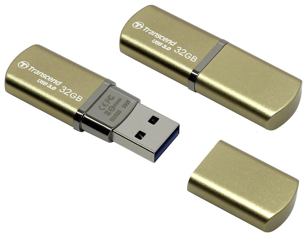 USB флешка Transcend JetFlash 820 32GB Gold