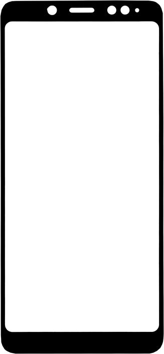 Защитное стекло GOSSO CASES для Xiaomi Redmi Note 5 Black