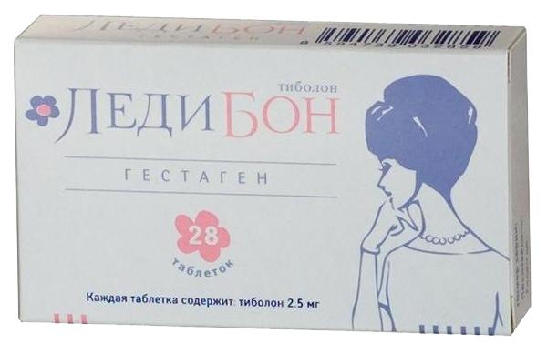 Ледибон таблетки 2.5 мг 84 шт.