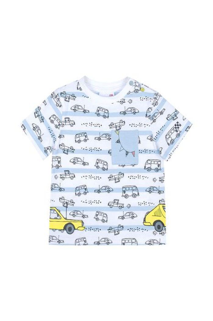 Купить W19143201GRA, Футболка для мальчиков COCCODRILLO р.68, Детские футболки, топы