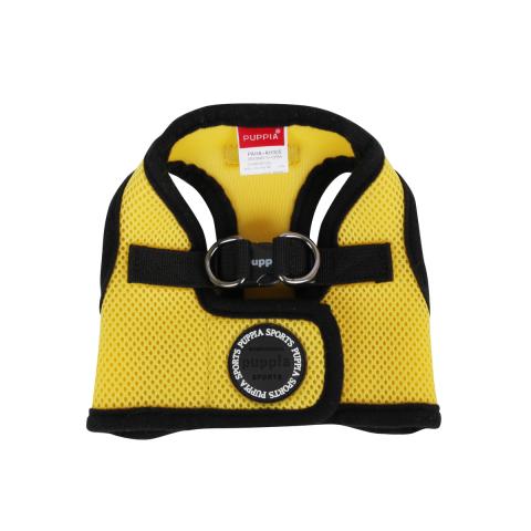 Шлейка для собак Puppia Soft Vest, желтая, размер L