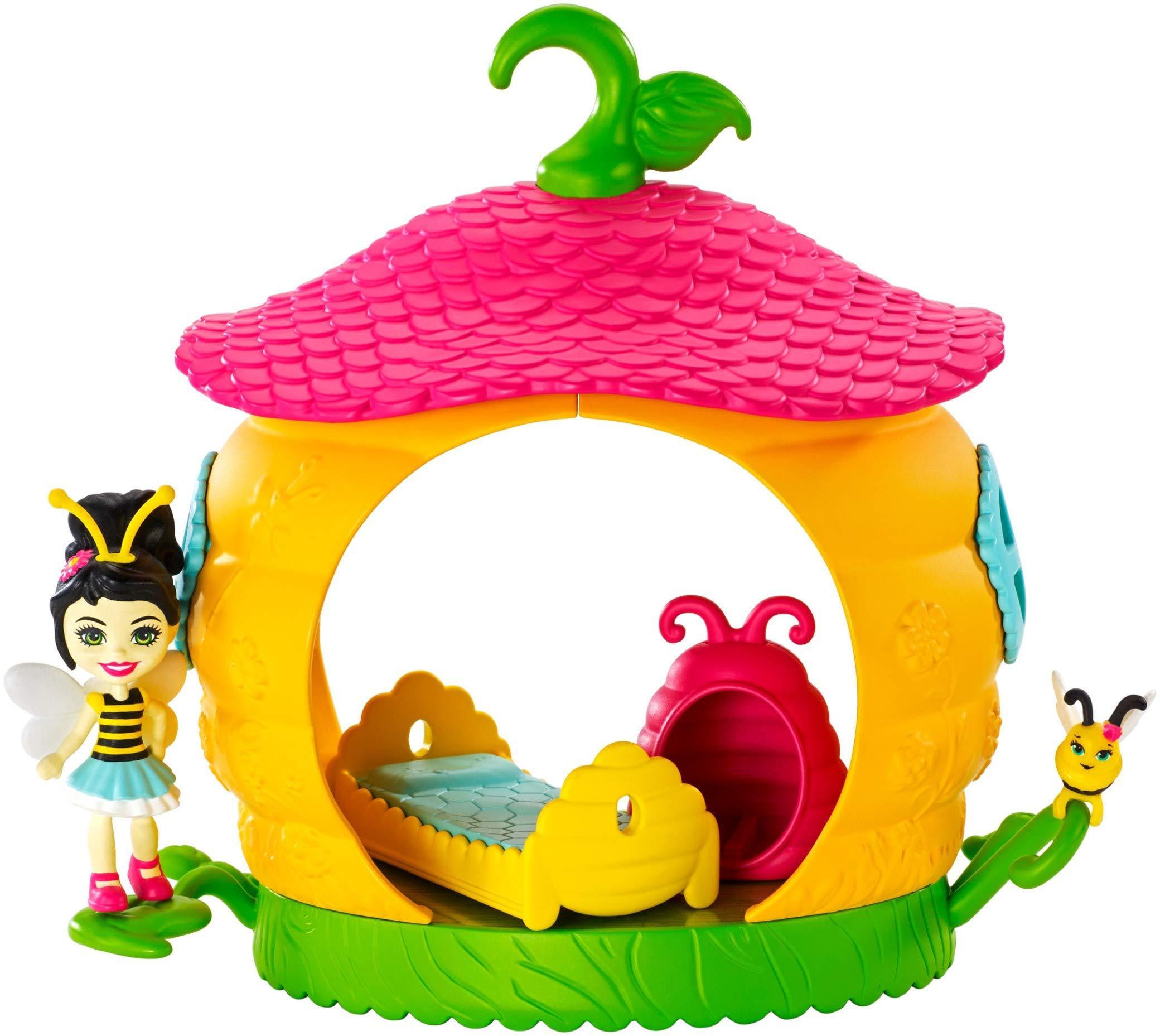 Игровой набор Enchantimals Petal Park Спальня с куклой Беатрис пчелка, Куклы  - купить со скидкой