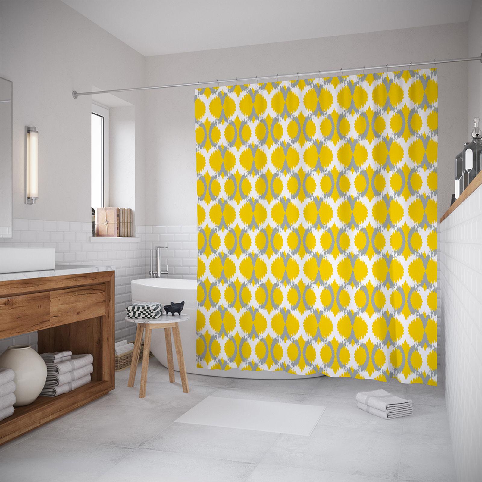 Штора для ванной JoyArty «Солнечные кольца» 180x200 фото