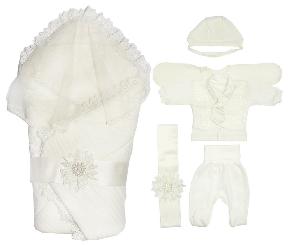 Комплект одежды для мальчиков Осьминожка К131/1 белый р.onesize