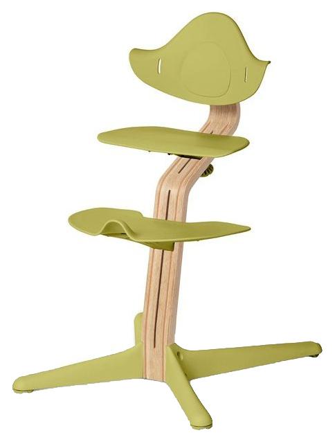 Детский регулируемый стул Evomove NOMI лайм, белый