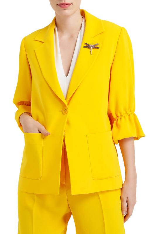 Пиджак женский BGN желтый 36