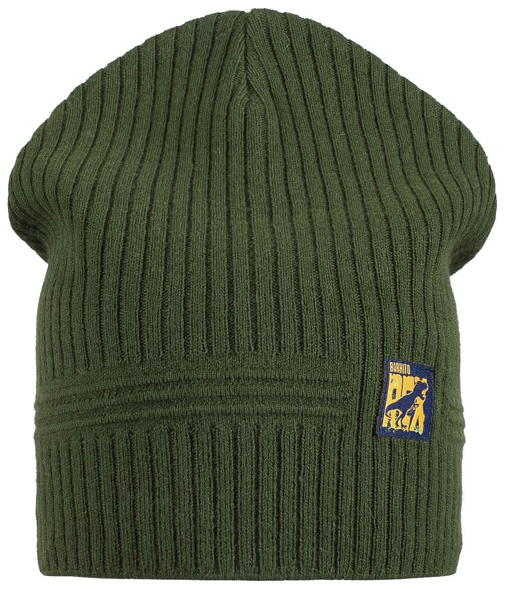 Купить S19B4013A, Шапка детская (для мальчика) Barkito, хаки р.50-52, Детские шапки и шарфы