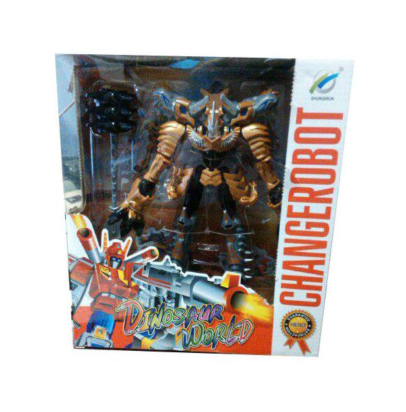 Купить Фигурка Tranformers Shantou Gepai Робот-динозавр B1503029 Желтый, Игровые фигурки