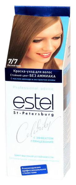 Краска-уход для волос Estel Celebrity Лесной орех тон 7/7