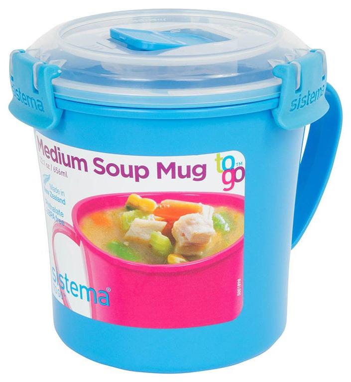 Кружка суповая sistema To Go