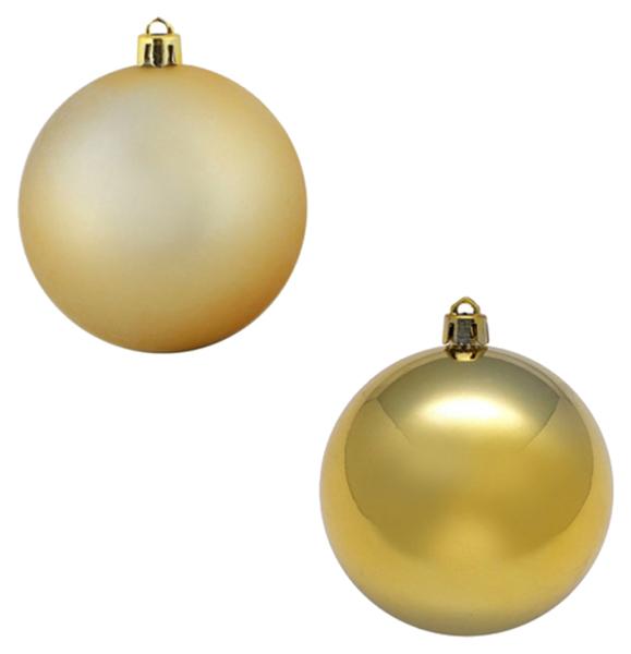 Новогодняя елочная игрушка Snowmen Золотистый шар