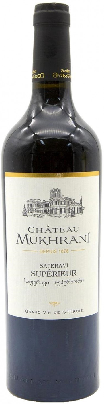 Вино Chateau Mukhrani Saperavi Superieur фото
