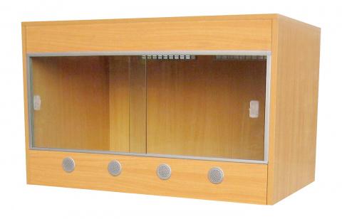 Террариум LUCKY REPTILE Стартовый комплект для Эублефаров деревянный,