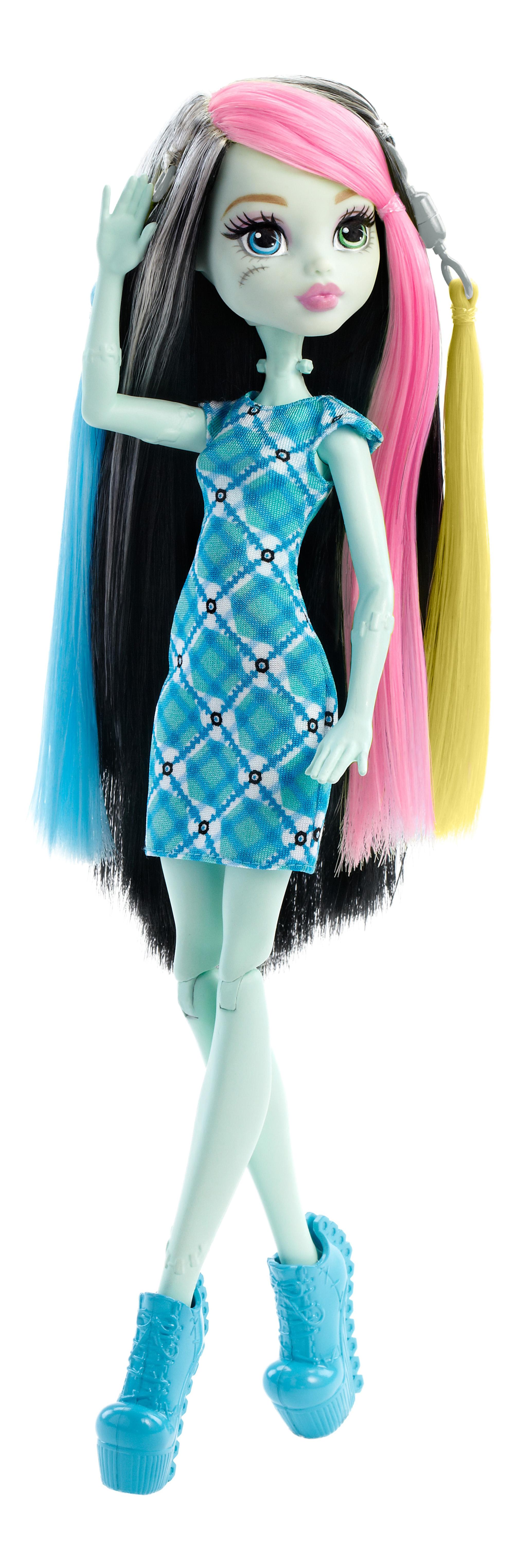 Купить Игровой набор Monster High стильная прическа Фрэнки FDT57, Куклы Monster High