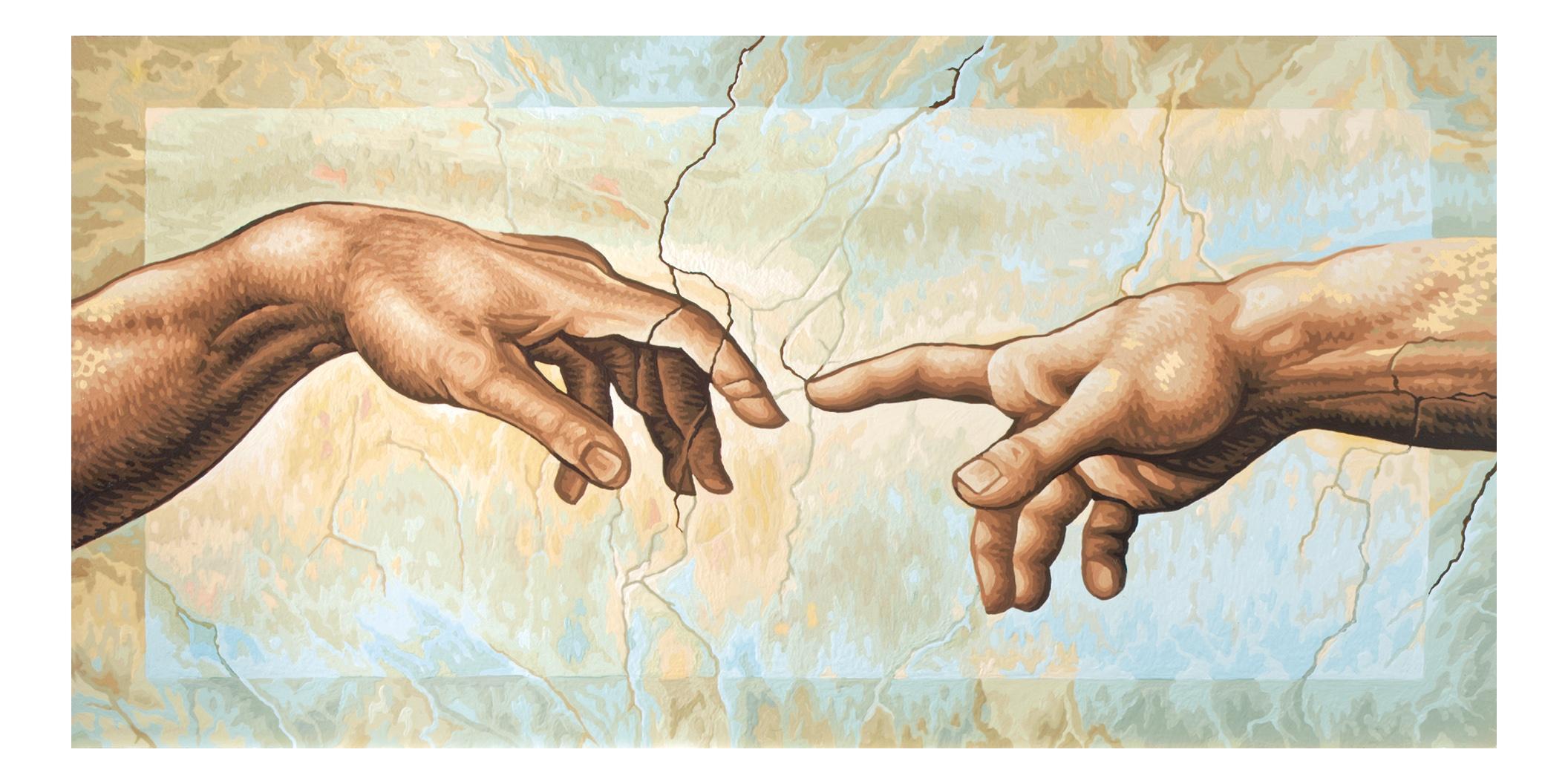 картинка сотворение мира микеланджело нужно