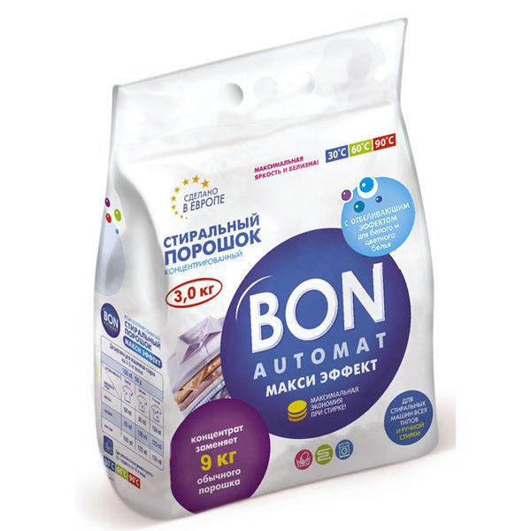 Порошок для стирки Bon макси эффект 3 кг BN-129