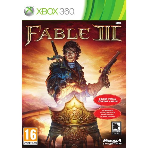 Игра Microsoft Fable 3 для Xbox 360