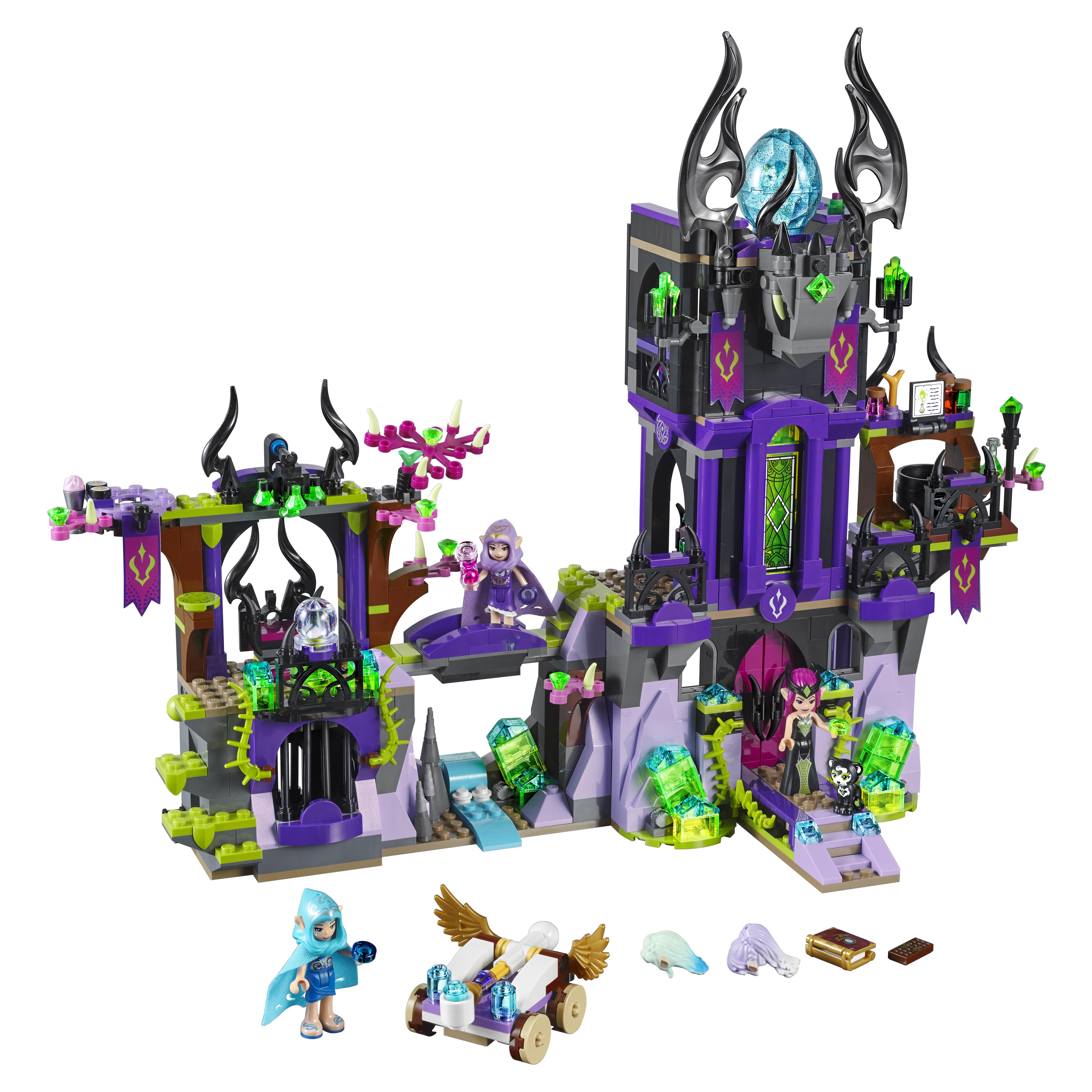 Купить Конструктор LEGO Elves Замок теней Раганы (41180), LEGO для девочек