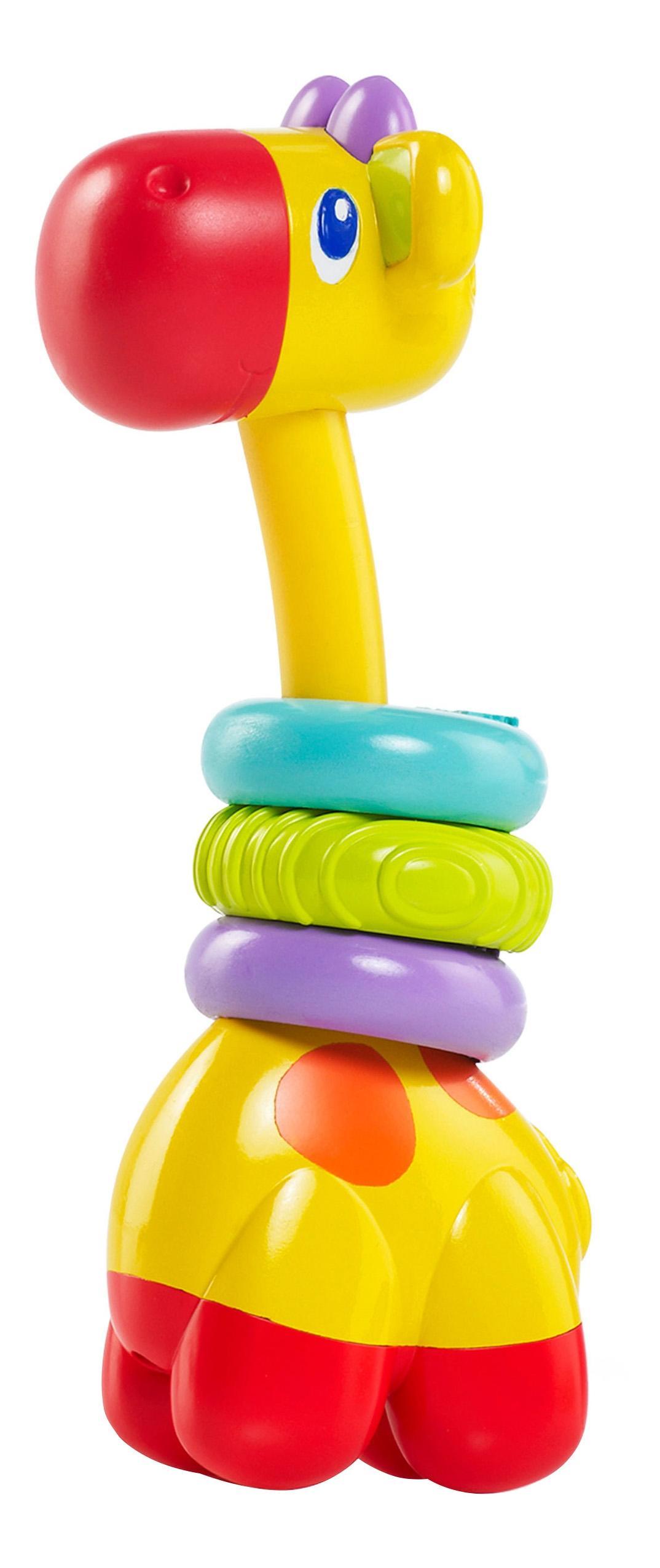 Купить Веселый жираф, Развивающая Прорезыватель-игрушка – прорезыватель Bright Starts веселый жираф,