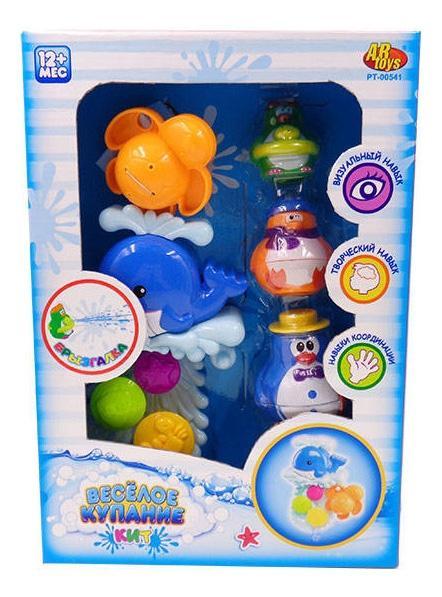 Купить Веселое купание. игрушки для ванной pt-00541, ABtoys, Игрушки для купания малыша