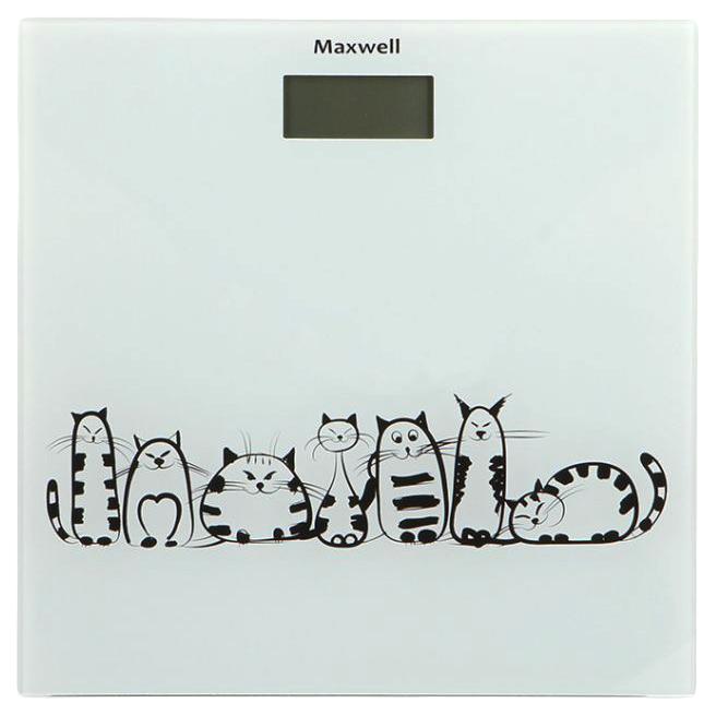 Весы напольные Maxwell MW-2675 W White