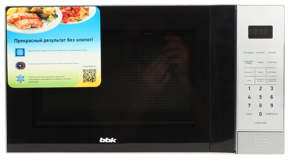 Микроволновая печь соло BBK 20MWS 729S silver/black