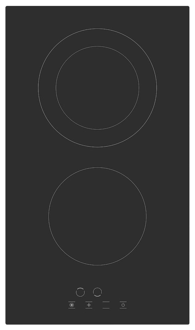 Встраиваемая варочная панель электрическая Simfer H30D12B011 Black