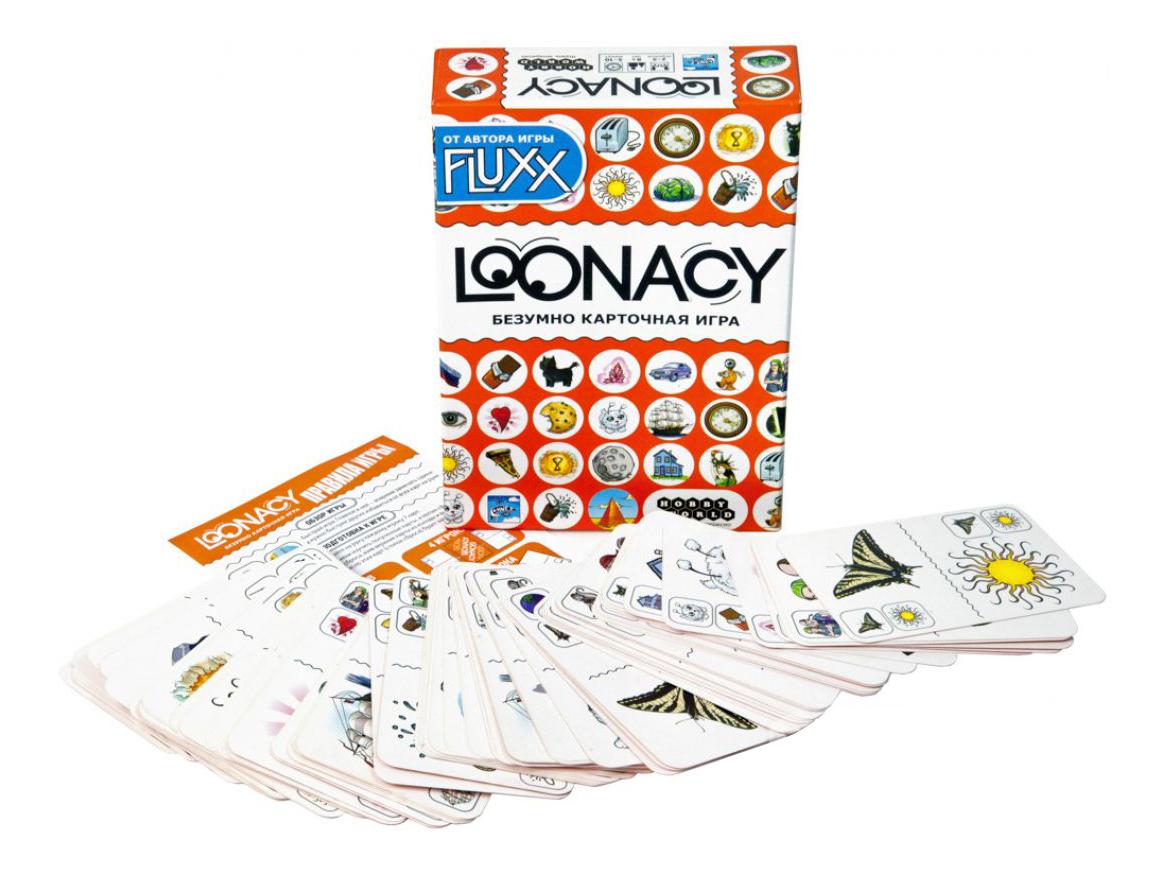 Купить Семейная настольная игра Loonacy Hobby World 1180, Настольные ролевые игры