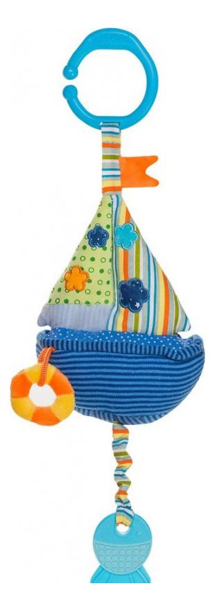 Купить Кораблик со звуком воды, Подвесная игрушка Babyono Кораблик со звуком воды ,