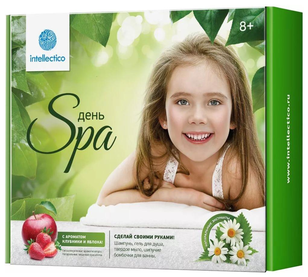 Купить Игровой набор Intellectico Твоя Spa-студия клубника и яблоко, Наборы для опытов