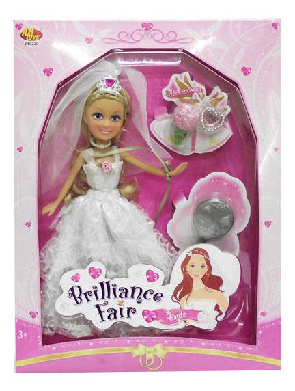 Кукла ABtoys Невеста 26 см