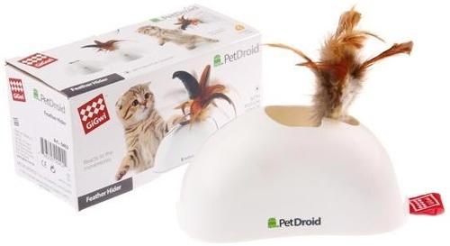 Интерактивная игрушка для кошек GiGwi Фезер Хайдер пластик